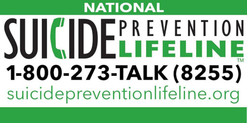 National Toll-Free Suicide Prevention Hotline